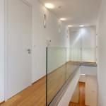 Celý interiér je navržen velmi jednoduše a nadčasově.