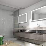 Elegantní koupelnová sestava Cubik, prodává il Bagno