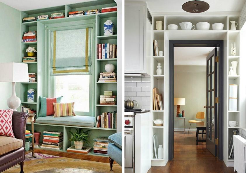 I pár centimetrů volné zdi můžete proměnit v úložný prostor. Zde jeden tip, jak na to.