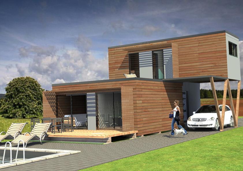 Pro stavbu mobilního domu potřebujete především pozemek.