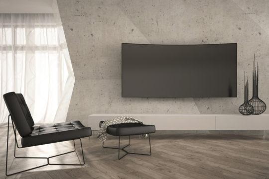 Univerzální držák Solight 1M03 bezpečně upevní televizi na zeď