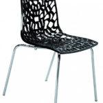 Než si koupíte židli s tvarovaným sedákem, posaďte se na ni a zvažte, je-li vám pohodlná.