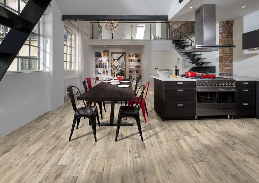 Dřevěná podlaha Kährs s dekorem dub kilesand