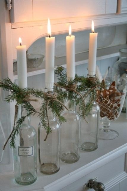 Na výrobu svícnů se hodí i kde jaké láhve.