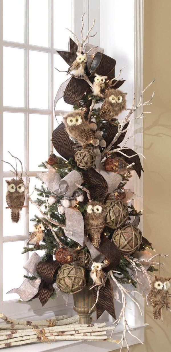 Vánoční nemusejí být jen klasické koule, na stromu se dobře budou vyjímat i zvířátka.