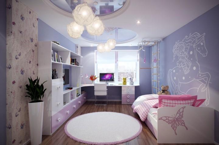 K uklidnění mysli pomohou i příjemné barvy a dekorace v pokoji.