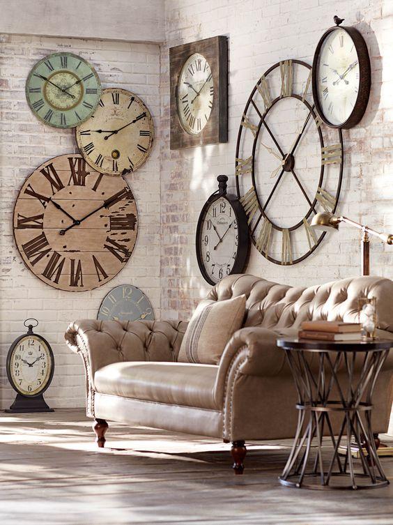 Všechny hodiny ve vaší domácnosti musí být funkční a musí ukazovat správný čas.