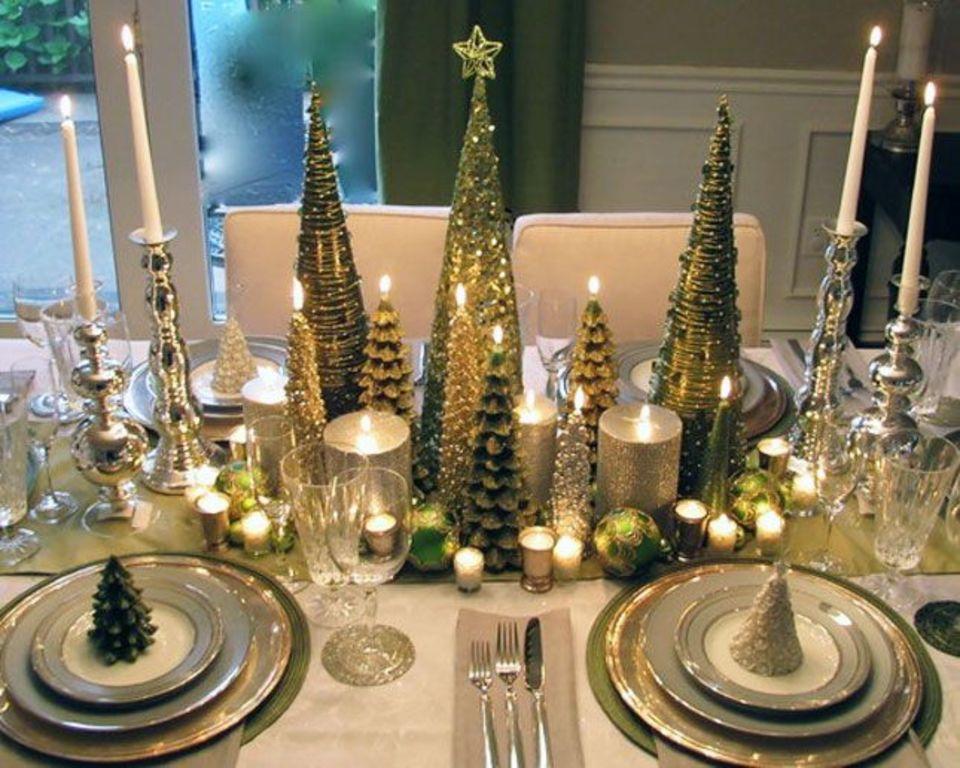 Svíčky ve tvaru stromku jistě navodí správnou atmosféru.