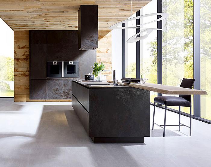 4 pravidla pro kuchyni v ern barv homeincube. Black Bedroom Furniture Sets. Home Design Ideas