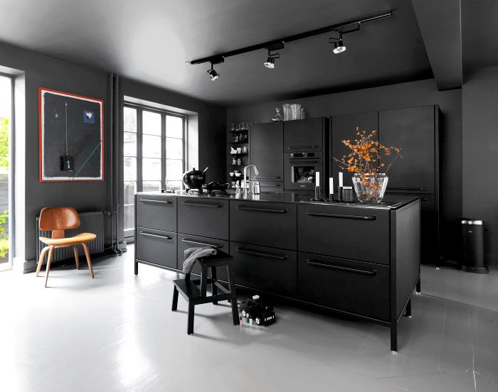 4 Pravidla Pro Kuchyni V čern 233 Barvě Homeincube