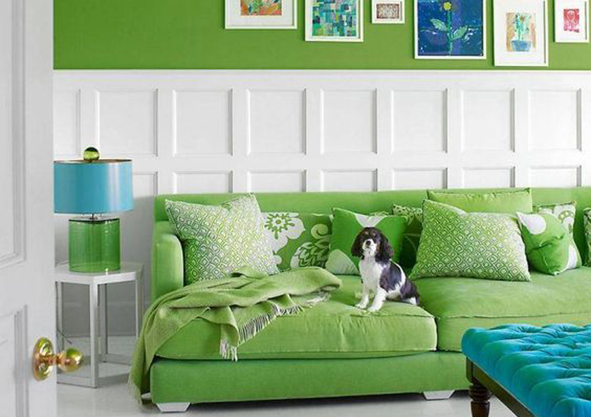 Pantone color of the year 15-0343 greenery