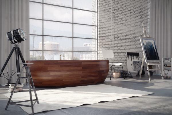 Nezapomeňte, že hmotnost dřevěné vany se pohybuje kolem 400 kg.