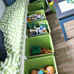 Hračky mohou děti třídit podle druhu.
