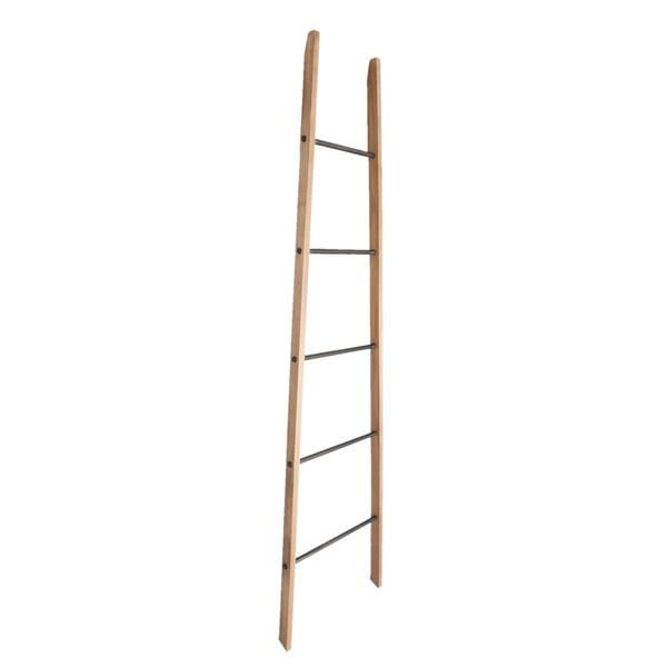 Žebřík Clayre & Eef Ladder, ršíře 44 cm, výška 179 cm, kombinace dřevo/železo. Cena 2 459 Kč, Bonami.
