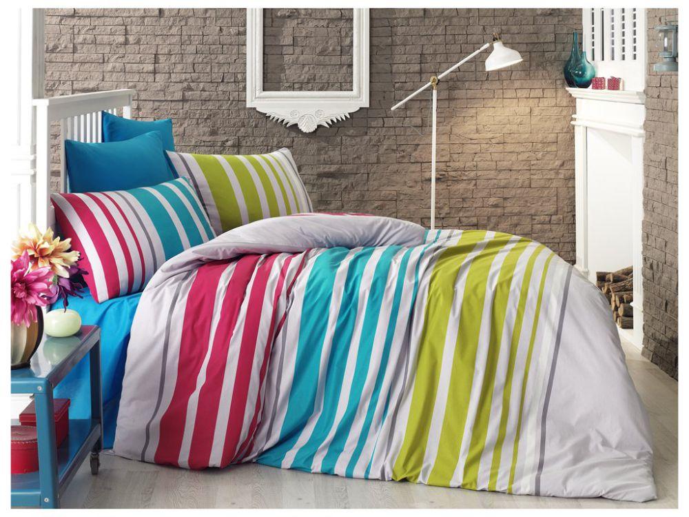 Povlečení Milly, hladká bavlna, 140 x 200 cm, cena 479 Kč, Bonatex.