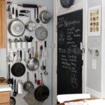 Jedna z možností, jak ukládat kuchyňské nářadí.