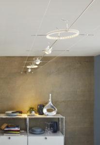 U lankových systému se kromě halogenových žárovek používají i LED.
