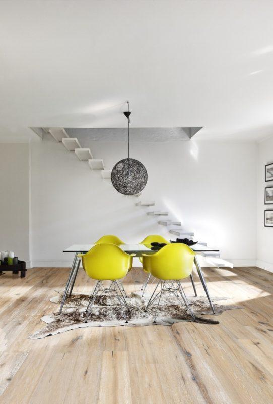 Olejovaná dřevěná podlaha KÄHRS kolekce Artisan, dekor Dub Oyster