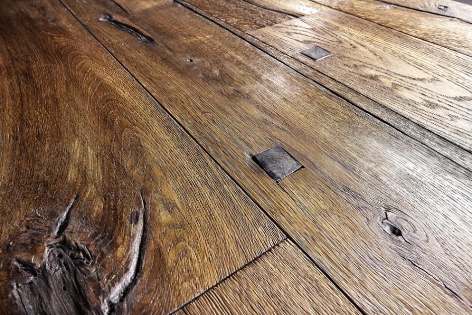Olejovaná dřevěná podlaha KÄHRS, kolekce Da Capo, dekor Dub Sparuto