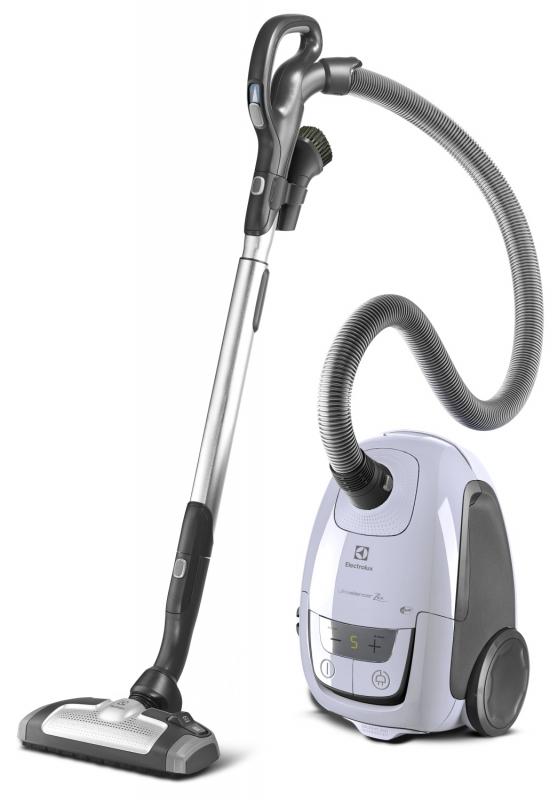 Sáčkový vysavač Electrolux UltraSilencer ZEN ZUSANIMA58 s omyvatelným filtrem alergy plus, sáčkem typu S-Bag anti odour, objem 3,5 l, 3 různými hubicemi a velmi tichým chodem 58 dB. Cena 6 999 Kč.