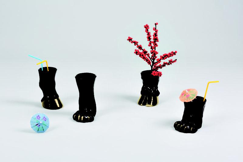 Kolekce porcelánových váz Party Animal.