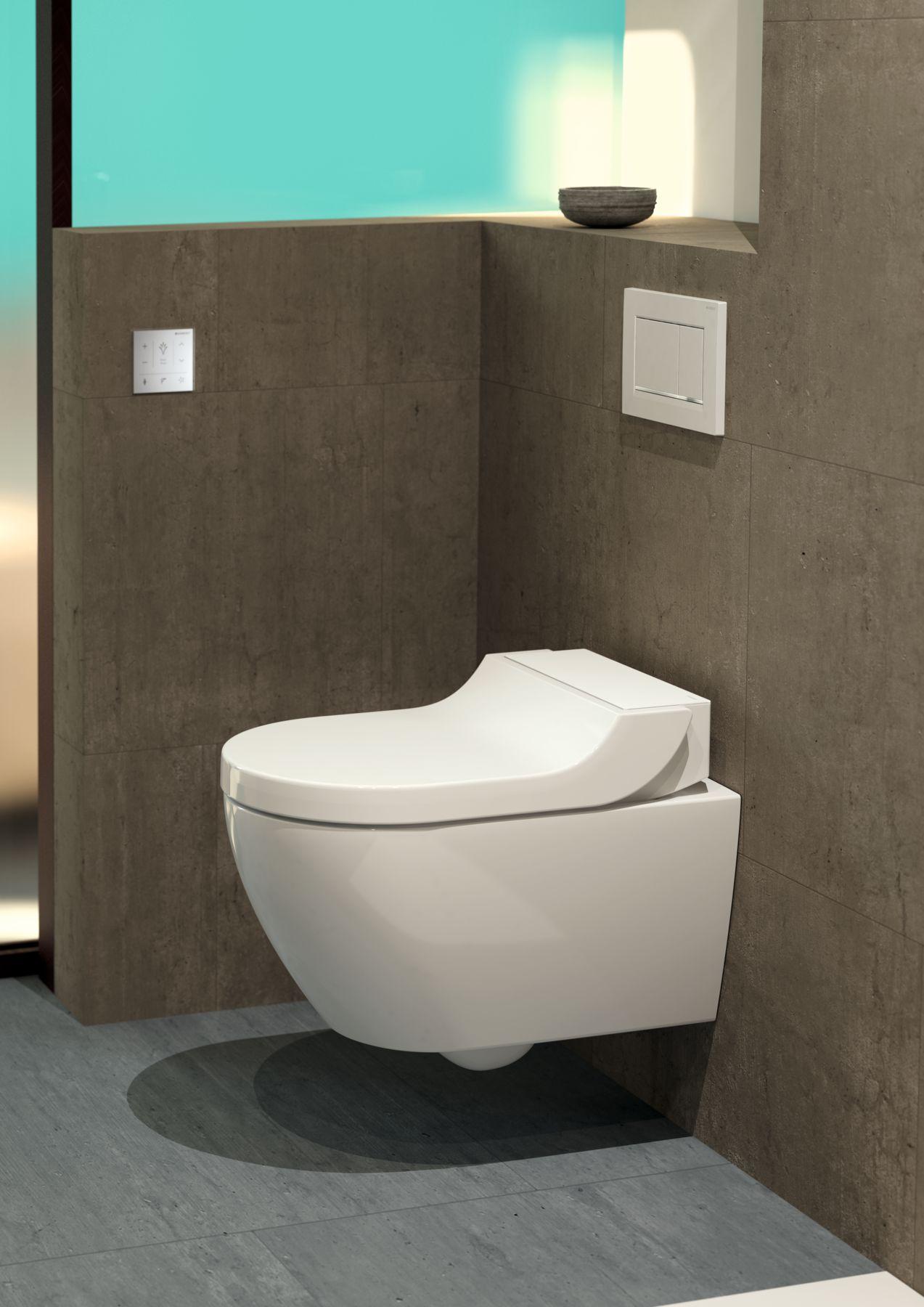 Geberit AquaClean Tuma nabízí překvapivě všestranné řešení vhodné pro každou koupelnu.