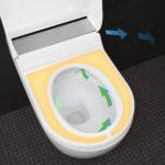 Toaleta Geberit AquaClean Tuma má i vyhřívané sedátko.