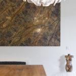 Majitelé se rádi obklopují uměním.