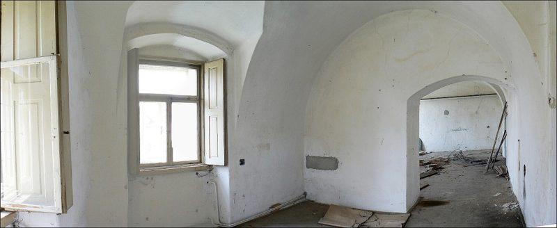Prostor kuchyně před rekonstrukcí