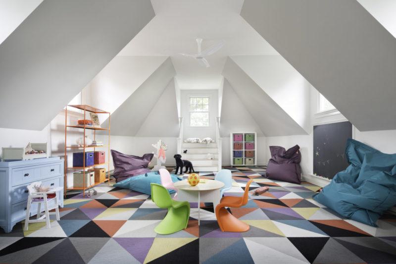 Židličky Panton junior, design Verner Panton