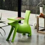 Sedátko se stolkem Le Chien Savant, design Philippe Starck