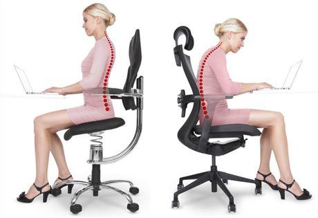 Z pánve vychází pohyb celého těla, proto by měl být sedák pohyblivý do všech stran.