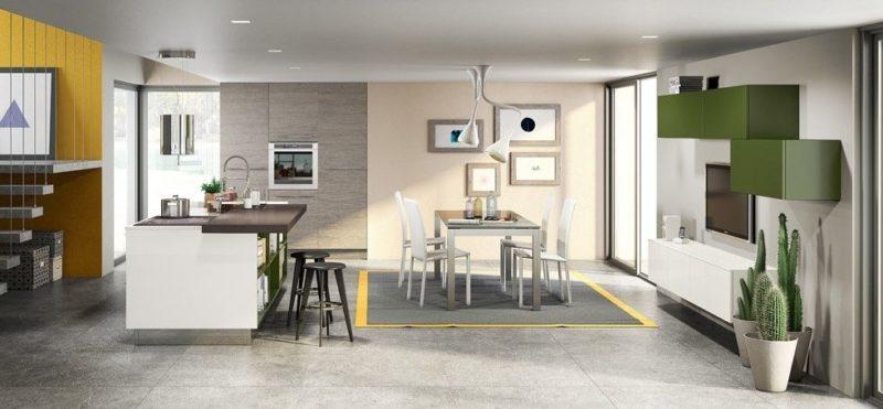 Položíte-li na podlahu stejný materiál v celé místnosti, opticky jisjednotíte.