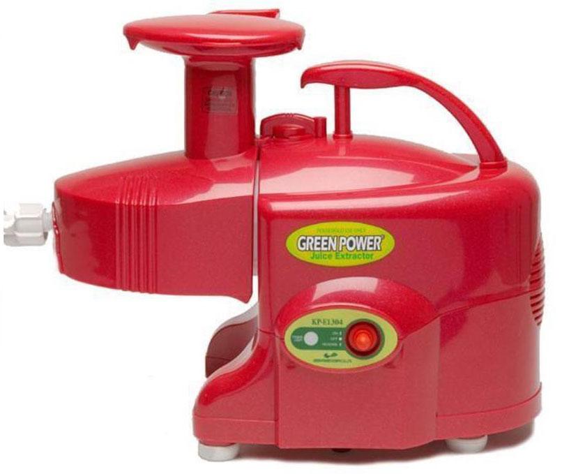 Odšťavňovač dvouhřídelový Kempo Green Power Exclusive červený. Cena 12 760 Kč, Biovara