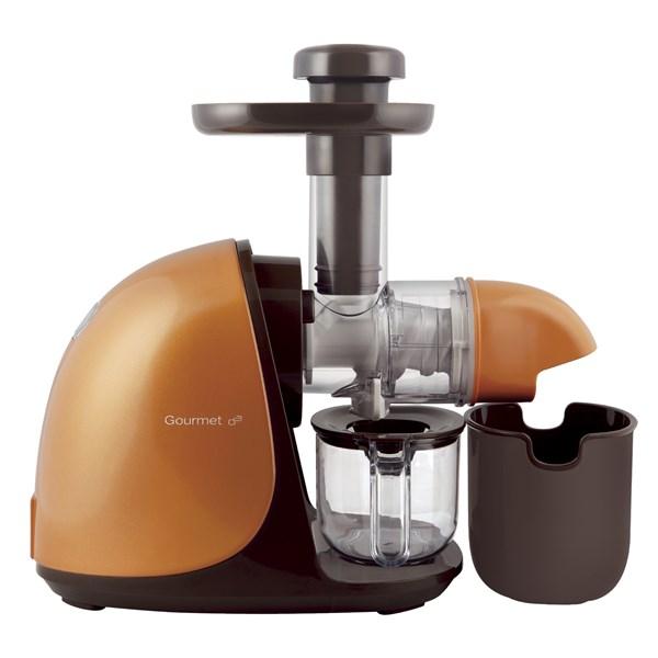 Odšťavňovač G21 Horizontal Gourmet vám rozhodně ostudu v kuchyni neudělá. Cena 3 990 Kč.