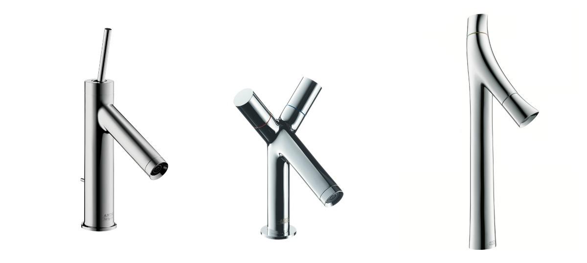 Kolekce baterií navržených pro Axor.