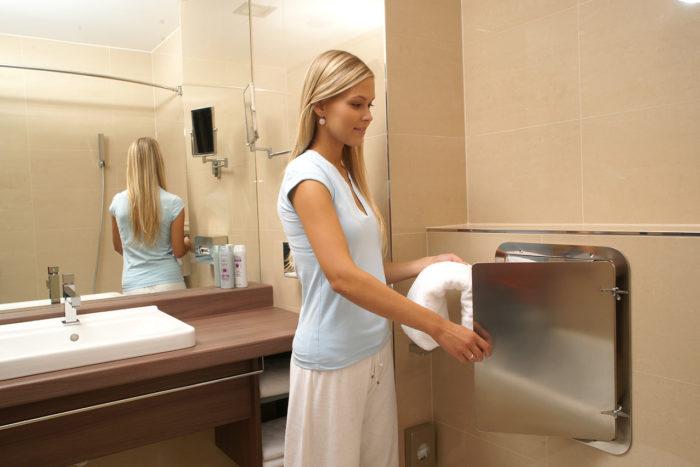 V patrových domech naplánujte shozy prádla.