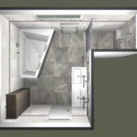 11. místo, návrh Michal Kolář, Koupelny Ptáček, Blansko. Koupelna s radiátorem Zehnder Metropolitan Bar, bílá RAL 9016