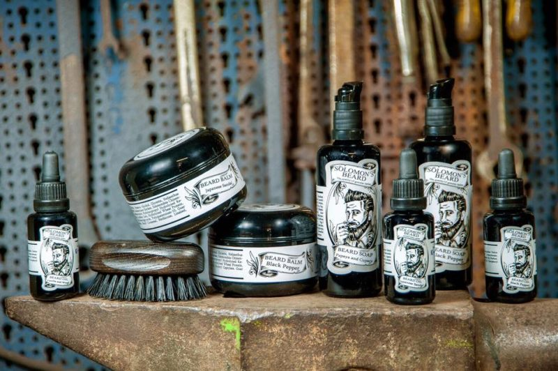 Produkty firmy Solomon´s Beard-Only for important beards!