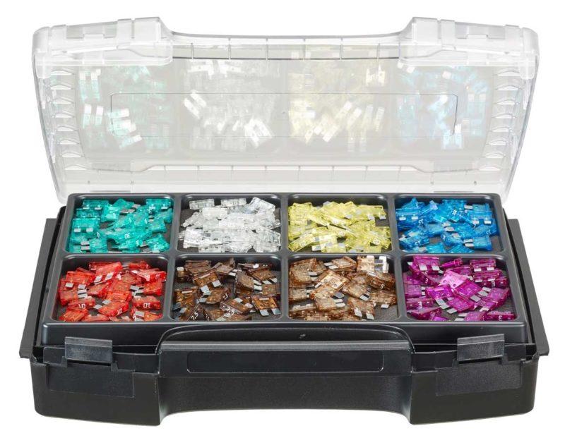 Dvoupatrový box pro uložení drobných součástek, Engelbert Strauss