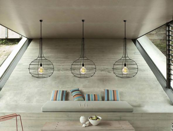 Lustr Globo, Tung design