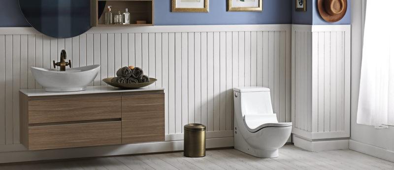 Moderní turecká toaleta WC health získala cenu Red Dot Design Award a dodává se i v provedení s bidetovou sprškou.