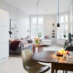 Při plánování garsonky navrhujte místnost tak, aby funkce prostor na sebe navazovaly.
