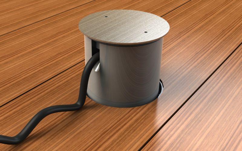 Při používání je možné venkovní podlahovou zásuvku dočasně (i trvale) opatřit nástavcem proti vniknutí vodě, sněžení, dešti atd.