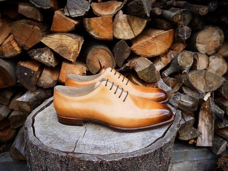 Ručně šité boty Oty Krojzla