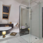 Sprchový kout firmy Ravak vyrobený na míru prostoru