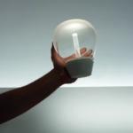 Empatia, sklo a hliník, design Charlotta de Bevilacqua, Artemide