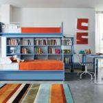 říká se, že modro-oranžová kombinace přináší smysl pro humor. Do dětského pokoje proto ideální
