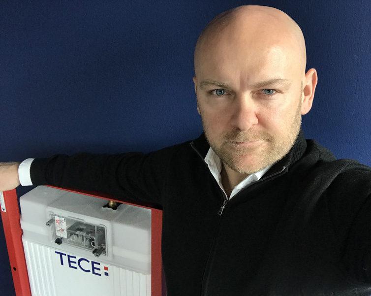 Ředitel firmy TECE Aleš Daniel