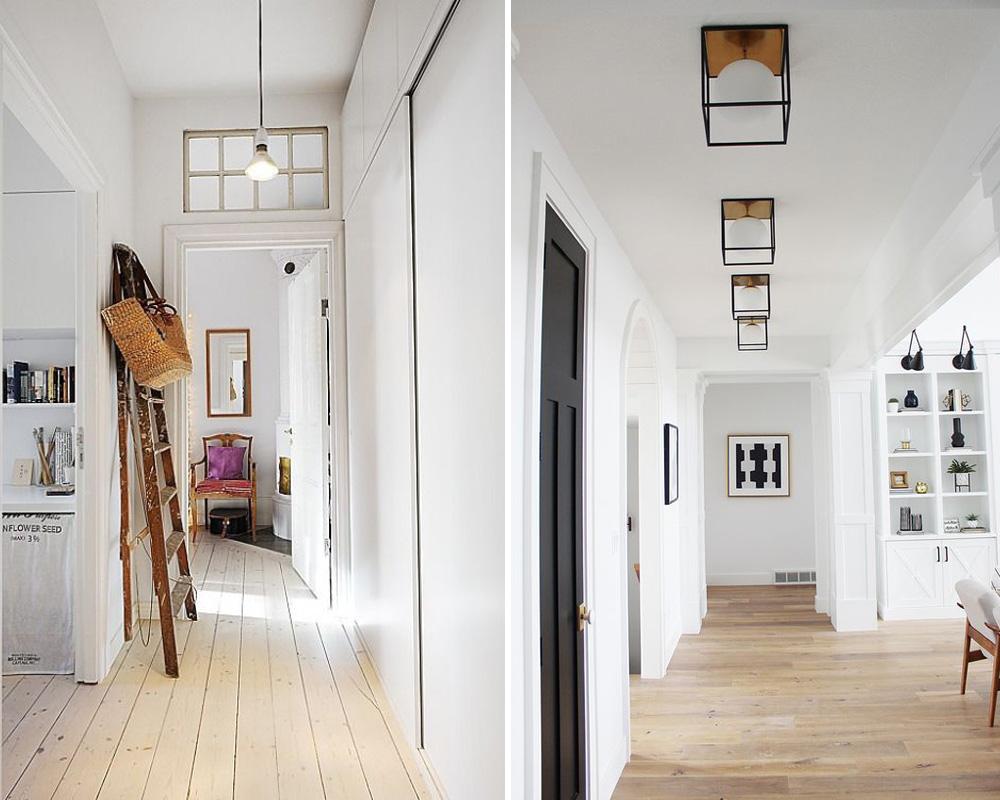Dovolí-li to výška stropu, můžete instalovat lustry